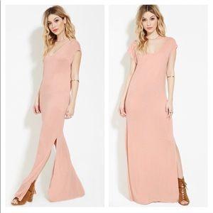 🆓BUY2 GET1 FREE Blush pink maxi dress